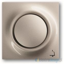 ABB Impuls Przycisk sekwencyjny 1-biegunowy szampański metalizowany
