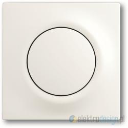 ABB Impuls Włącznik pojedynczy schodowy impulsowy biały studyjny mat