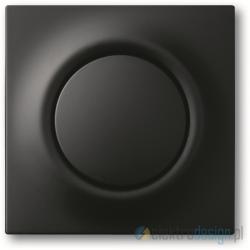 ABB Impuls Włącznik pojedynczy schodowy impulsowy czarny matowy