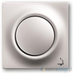 ABB Impuls Przycisk sekwencyjny 1-biegunowy aluminiowo srebrny