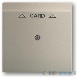 ABB Impuls Włącznik hotelowy na kartę szampański metalizowany
