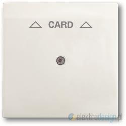 ABB Impuls Włącznik hotelowy na kartę biały studyjny mat