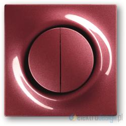 ABB Impuls Włącznik podwójny schodowy impulsowy jeżyna