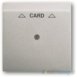 ABB Impuls Włącznik hotelowy na kartę aluminiowo srebrny