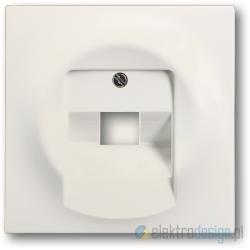 ABB Impuls Gniazdko telefoniczne RJ11 biały studyjny mat