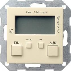 Zegar sterowniczy kremowy System 55 GIRA