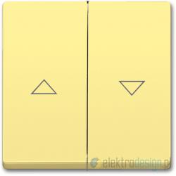 ABB Solo Włącznik żaluzjowy z blokadą żółty