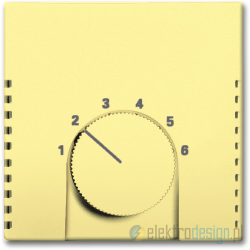 ABB Solo Regulator temperatury żółty
