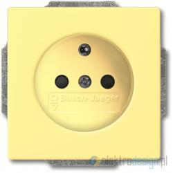 ABB Solo Gniazdko z uziemieniem żółty