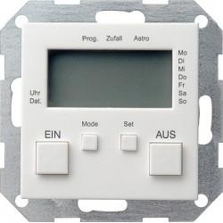 Zegar sterowniczy biały matowy System 55 GIRA