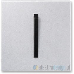 ABB NEO Włącznik pojedynczy schodowy tytanowy onyx