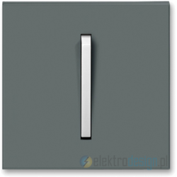ABB NEO Przycisk zwierny stalowy tytanowy