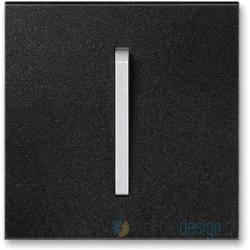 ABB NEO Włącznik pojedynczy krzyżowy onyx tytanowy