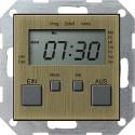 Zegar sterowniczy brąz System 55 GIRA