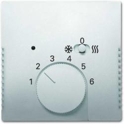 ABB Pure Regulator temperatury z lampką i przeWłącznikiem stal szlachetna