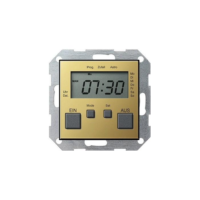 Zegar sterowniczy mosiądz System 55 GIRA