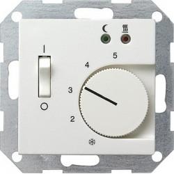 Regulator temperatury pokojowy 230V z sondą biały System 55 GIRA