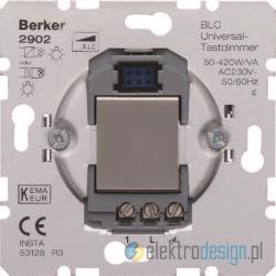 Ściemniacz uniwersalny przyciskowy BLC alu Berker K.5