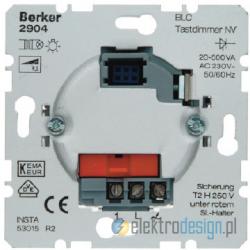 Ściemniacz przyciskowy niskonapięciowy BLC alu Berker K.5