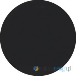 Łącznik pojedynczy krzyżowy czarny połysk Berker R.1/R3