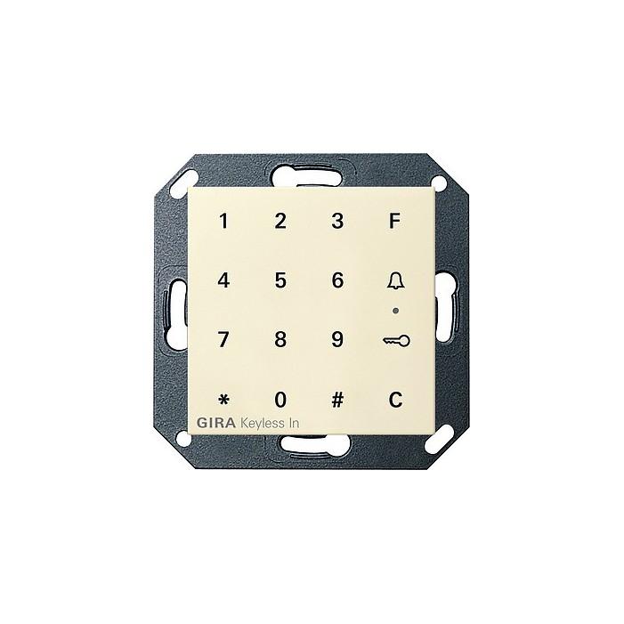 Keyless In klawiatura kodowa kremowy System 55 GIRA