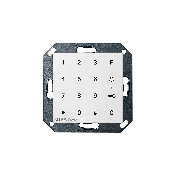Keyless In klawiatura kodowa. biały matowy System 55 GIRA
