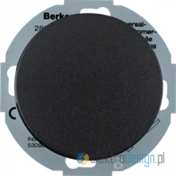 Rozszerzenie ściemniacza obrotowego z płynną regulacją czarmy Berker R.classic