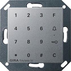 Keyless In klawiatura kodowa. kolor alu System 55 GIRA
