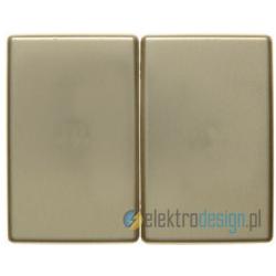 Łącznik podwójny seryjny / świecznikowy złoty Berker Arsys