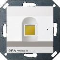 Keyless In czytnik linii papilarnych biały matowy System 55 GIRA