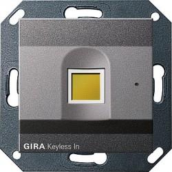 Keyless In czytnik linii papilarnych antracytowy System 55 GIRA