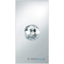 Crystal Ball szkło lustrzane Svarovsky łącznik dotykowy szkło lustrzane Berker Crystal Ball