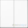 Łącznik podwójny seryjny (świecznikowy) biały Jung LS 990