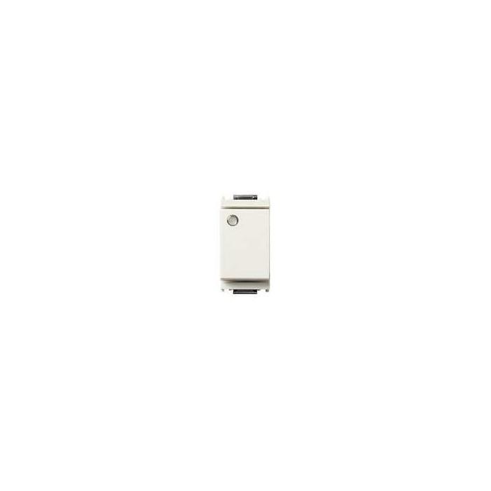 Łącznik jednobiegunowy 1P, 16AX, podświetlenie, 1M, biały, Vimar IDEA