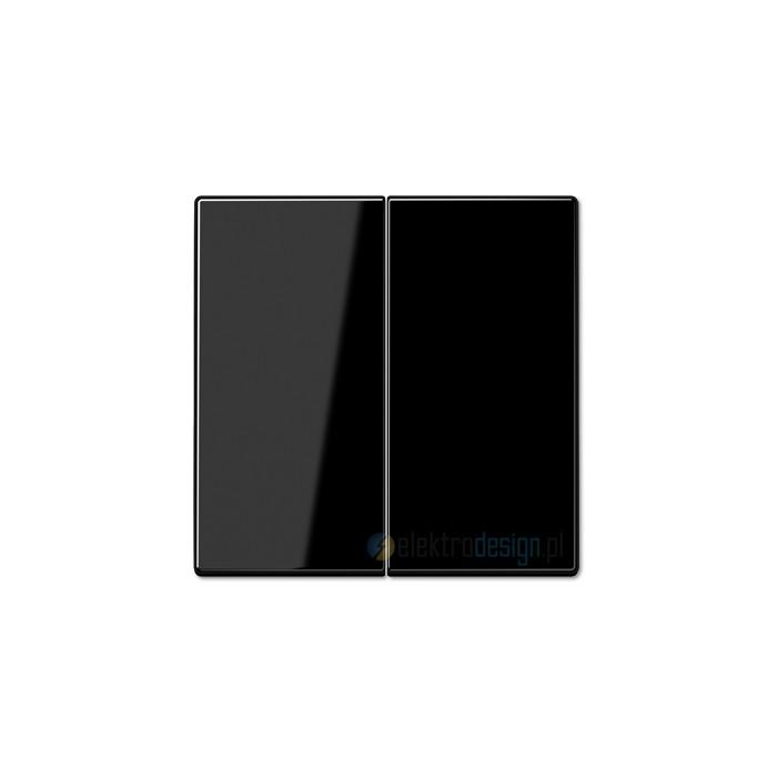 jung ls 990 cznik podw jny schodowy czarny. Black Bedroom Furniture Sets. Home Design Ideas