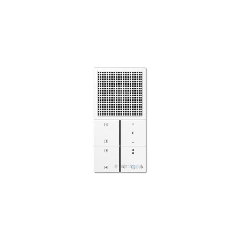 jung ls 990 radio podtynkowe bia e. Black Bedroom Furniture Sets. Home Design Ideas