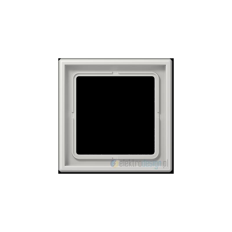 jung ls 990 ramka 1 krotna szara. Black Bedroom Furniture Sets. Home Design Ideas