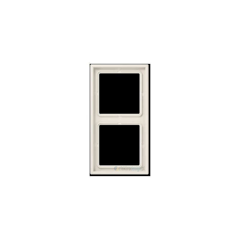 jung ls 990 ramka 2 krotna kremowa. Black Bedroom Furniture Sets. Home Design Ideas
