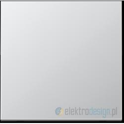 Włącznik pojedynczy dzwonkowy, aluminiowy JUNG LS Aluminium