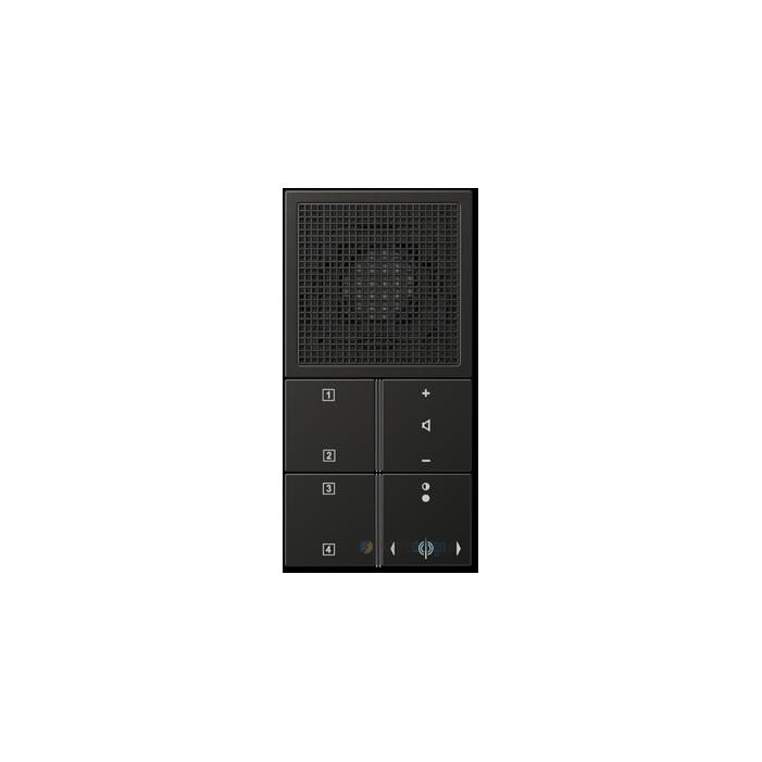jung ls aluminium radio podtynkowe antracytowe. Black Bedroom Furniture Sets. Home Design Ideas