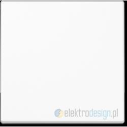 Włącznik dzwonkowy pojedynczy biały JUNG A-creation