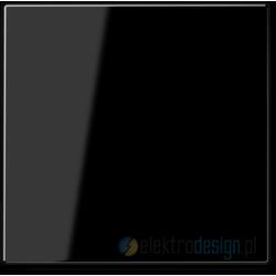 Włącznik krzyżowy pojedynczy czarny JUNG A-creation