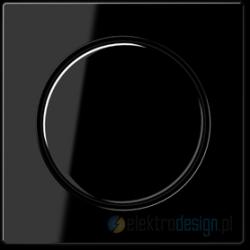 Ściemniacz obrotowy uniwersalny schodowy 50-420W/VA czarny A-creation JUNG