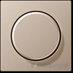 Ściemniacz obrotowy uniwersalny schodowy 50-420W/VA kolor: alu A-creation JUNG