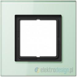 Ramka 1-krotna, szkło seledynowe LS Plus