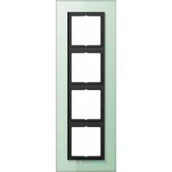 Ramka 4-krotna, szkło seledynowe JUNG LS PLUS