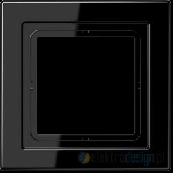 Ramka 1-krotna czarna Jung LS Design