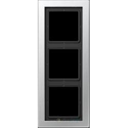 Ramka 3-krotna aluminium Jung LS Design