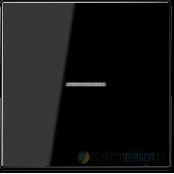 Łącznik pojedynczy uniwersalny z podświetleniem czarny Jung LS 990