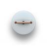 Fontini DO włącznik porcelanowy retro biały / mosiądz natynkowy